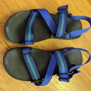 Men's Chacos Lowdown Sandals Caspian Blue Size 9